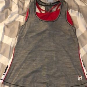 Fila Women's workout tank with built in sports bra